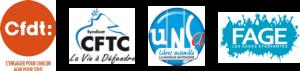 CFDT_CFTC_UNSA_FAGE_logo